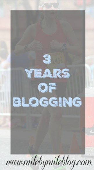 3 Years of Blogging