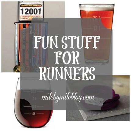 Fun stuff for runners