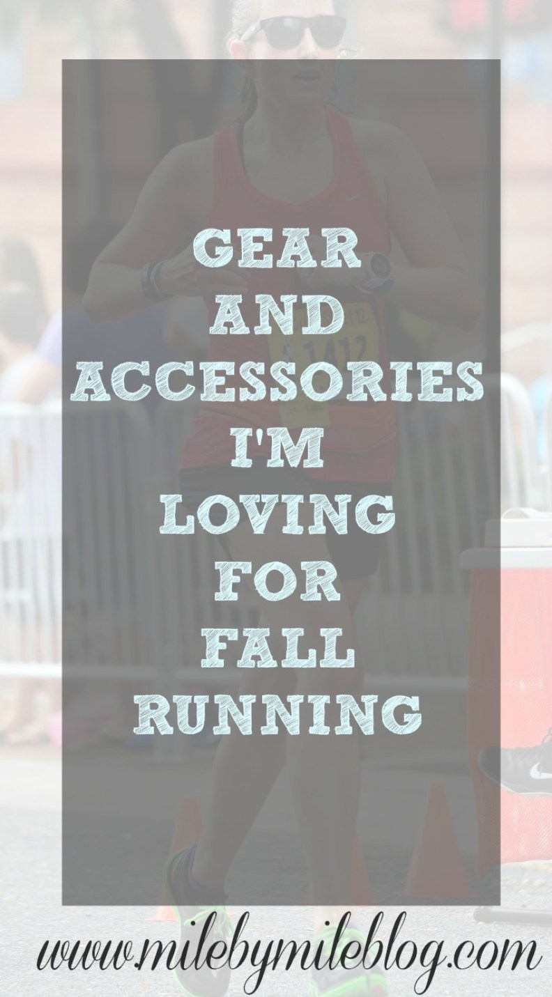 gear and accessories for fall running