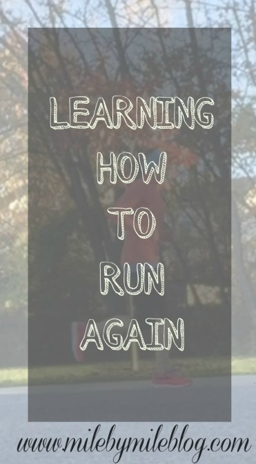 Learning How to Run Again