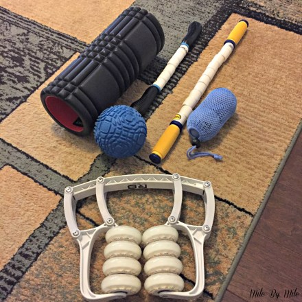 foam rolling and other recovery tools
