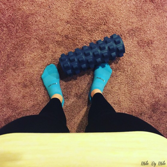 """Sometimes you need to take a step back and go back to basics. This week was focused only on foam rolling, core work, and a little walking. We all need to """"reset"""" once in awhile!"""