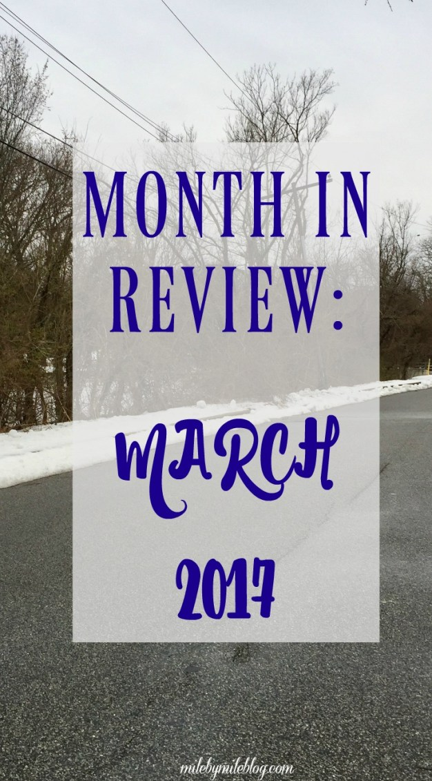 March is over, which means it's to review progress this month and plan goals for April. #goals #running #fitness