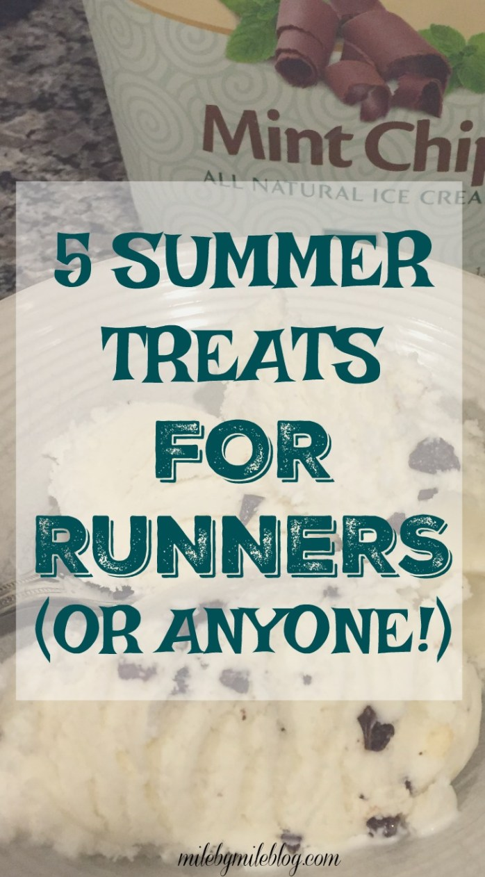 Looking to treat yourself to something cold and refreshing after a hot summer run? Try one of these 5 summer treats for runner (or for anyone!)