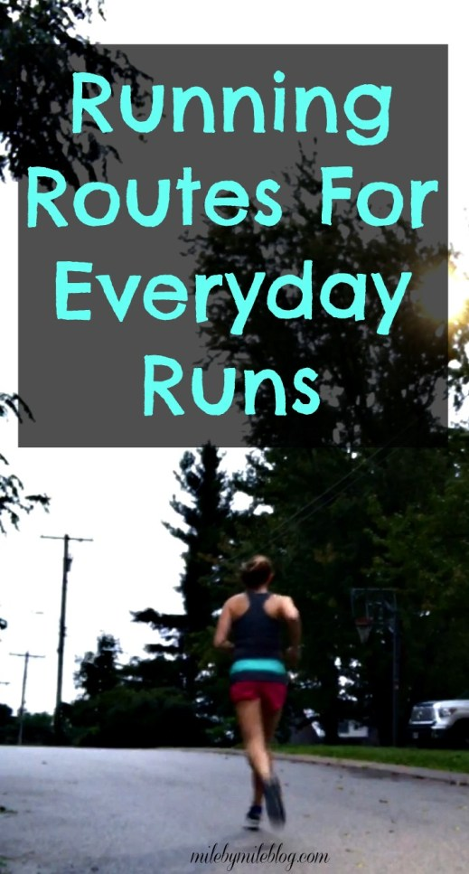 running routes for everyday runs mile by mile. Black Bedroom Furniture Sets. Home Design Ideas