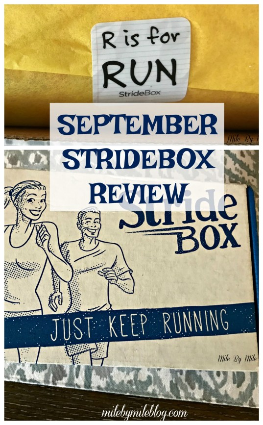 September StrideBox Review