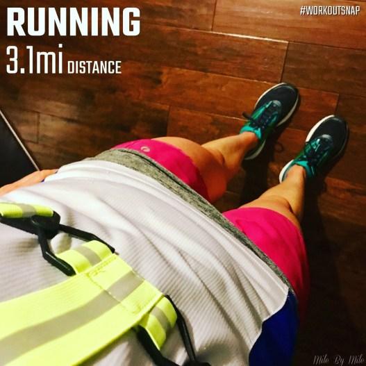 Wednesday easy run