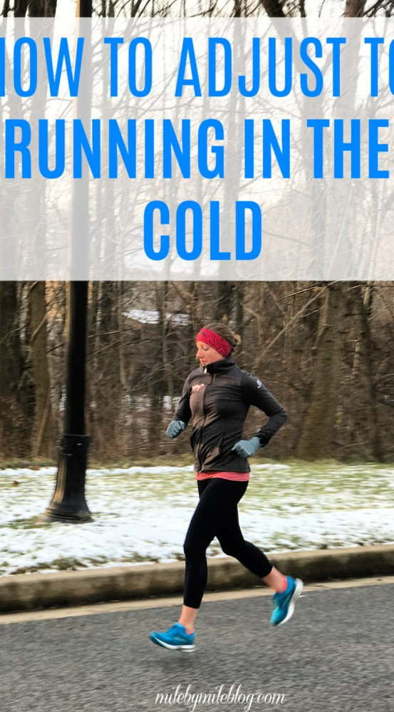It's that time of year again when we need to try to adjust to running in the cold. Here are some tips to help you adjust to running outside as the temps drop! Click post to read tips.