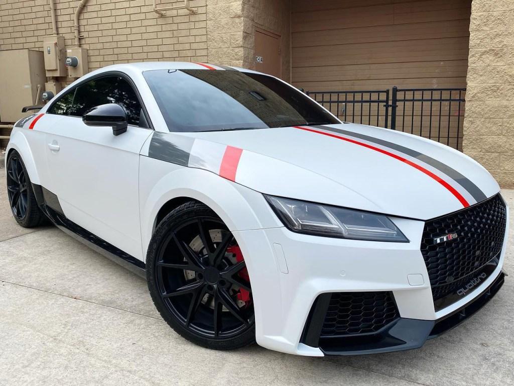 Audi TTRS vinyl wrap