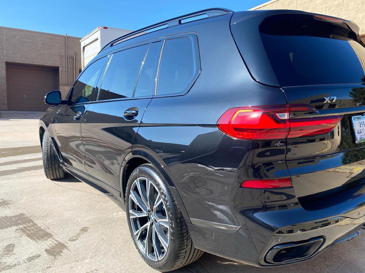 BMW X7 M50i ceramic tint