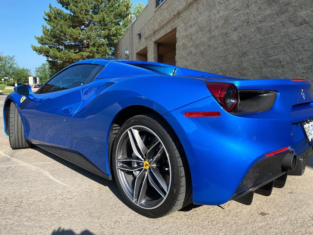 Ferrari 488 Spider in for ceramic coating
