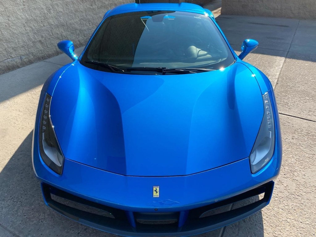 Ferrari 488 Spider in for paint protection film