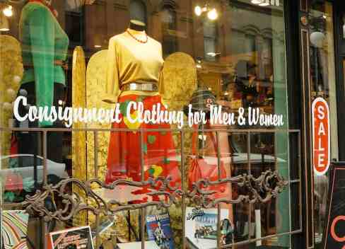 Consignment stores and thrift shops in Denver, Boulder and beyond.