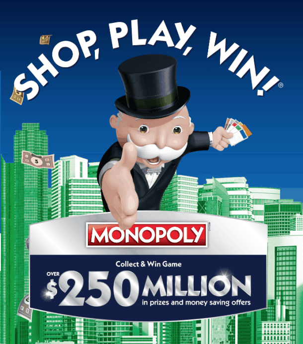 How To Play Safeway's Monopoly Game   and Maybe Win Big