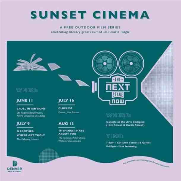 Denver Arts & Venues Hosts Free Sunset Cinema Series - Mile High on