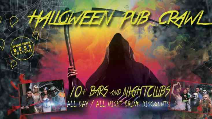 DENVER PRE HALLOWEEN PUB CRAWL - OCT 25th