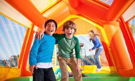 All-Day General Admission Pass or Children's Party Package for Up to Eight Kids at Bounce City (Up to 50% Off).