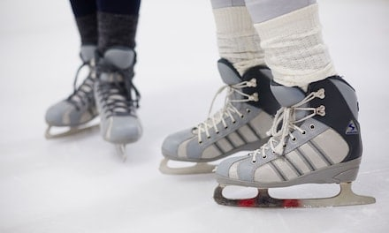 Open Skate Session Packages or Hockey Camp at Big Bear Ice Arena (Up to 46% Off)