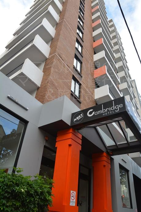 シドニーのアベイホテル客室