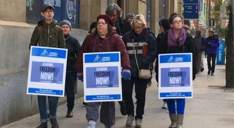 Ontario college strike sees more than 12,000 faculty walk off the job