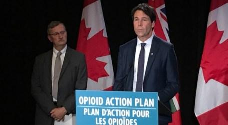 Ontário vai criar um grupo de trabalho para ajudar na luta contra a crise de opioides