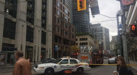 Toronto police headquarters on lockdown due to suspicious package investigation