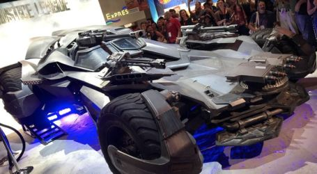 Batmobile: Carro oficial do Batman na Comic Con Portugal