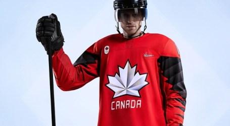 Canadá apresenta as camisolas do hockey olímpico