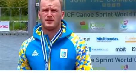Suspensão de canoísta ucraniano vale medalha de ouro a Portugal