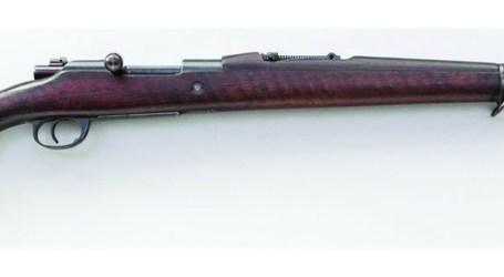 Espingarda Mauser-Vergueiro Usada na I Guerra Mundial
