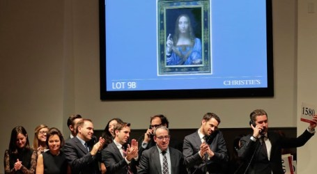 Painting by Leonardo da Vinci sells for record $450M