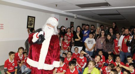 Festa de Natal da Casa do Benfica de Toronto