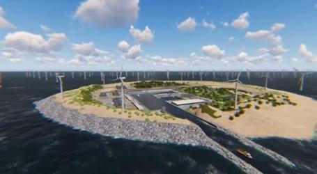 Ilha artificial no mar alto vai fornecer eletricidade a cinco países