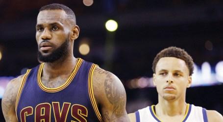 All Stars LeBron James e Stephen Curry  são capitães do All-Star Game