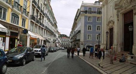 Abatimentos de piso em 3 ruas de Lisboa