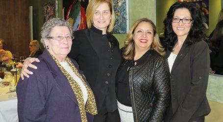 Federação junta dezenas  de mulheres de sucesso