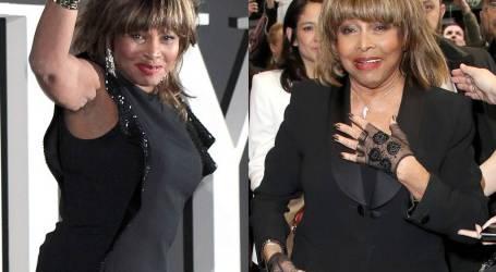 Tina Turner volta à passadeira vermelha