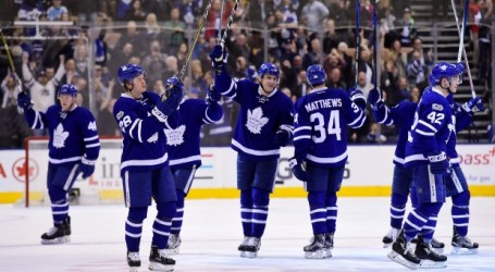 Maple Leafs clinch playoff spot with Senators' win against Panthers