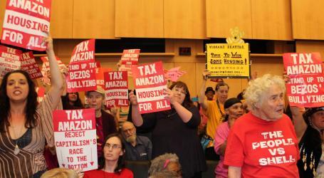 Seattle aprova imposto sobre as grandes empresas para ajudar sem-abrigo