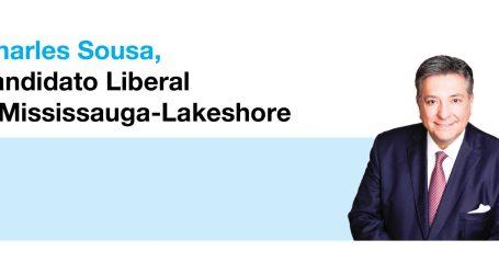 Charles Sousa, candidato Liberal a Mississauga-Lakeshore