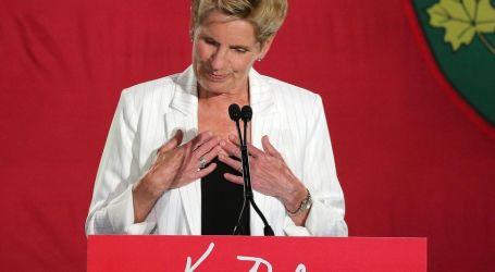 Kathleen Wynne resigns Liberal leadership