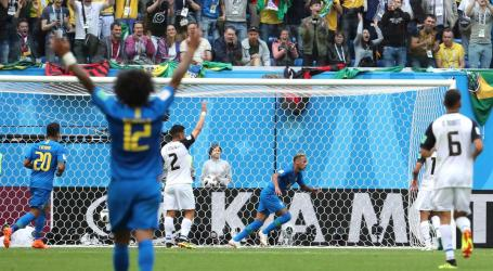 Brasil bate e elimina Costa Rica com dois golos nos descontos