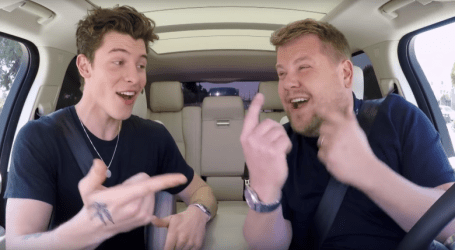 Shawn Mendes reveals the most Canadian thing about himself on hilarious Carpool Karaoke