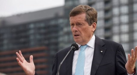 John Tory says he'll hold property taxes at rate of inflation if re-elected