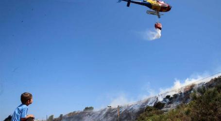 Cinco distritos e quase 30 concelhos em risco máximo de incêndio
