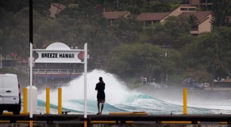 Furacão Lane vai chegar ao Havai com ventos de 200 km/h