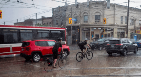 Winds of up to 80 km/h or higher forecast for Friday