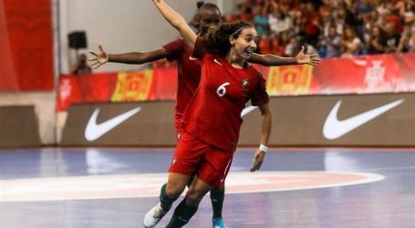 Portugal no primeiro Europeu feminino de futsal