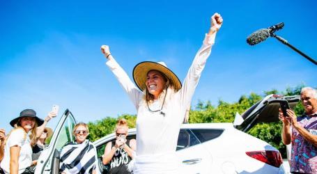 Stephanie Gilmore sagra-se heptacampeã mundial de surf