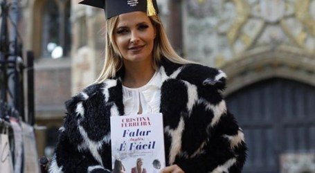 Cristina Ferreira lança manual de inglês em Cambridge